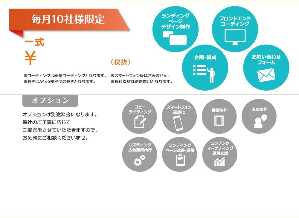 毎月10社様限定 一式 ¥320,000~